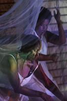 Awilda Sterling y Awilda Rodríguez en L