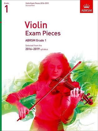 ABRSM Violin Pieces Grade 1