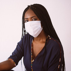black-woman-in-protective-mask-on-gray-b