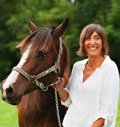 Executive Director with a Horse