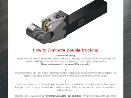 How to eliminate double tracking?