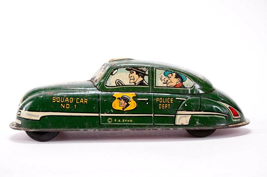 Vintage Dick Tracy Tin Car.jpg