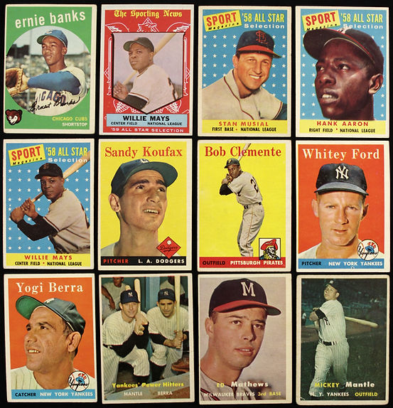 Topps Vintage Baseball Card Lot - Mickey