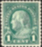 Benjamin Franklin 1 cent stamp