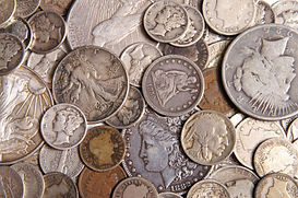 Silver US coins