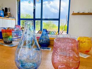 宮古島吹きガラス工房 ポンテ様で吹きガラス体験
