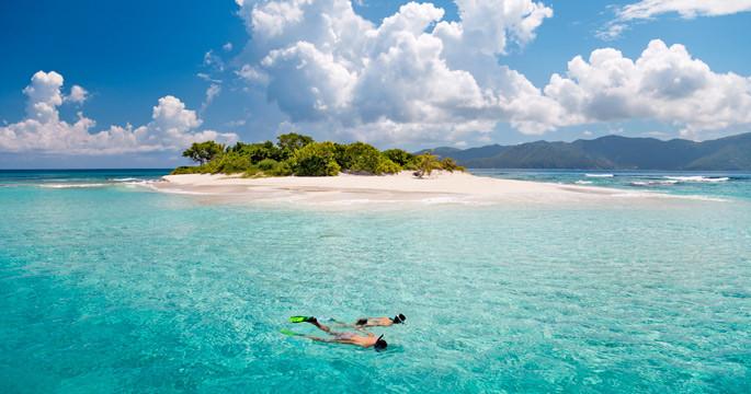 Around the BVI's great snorkeling