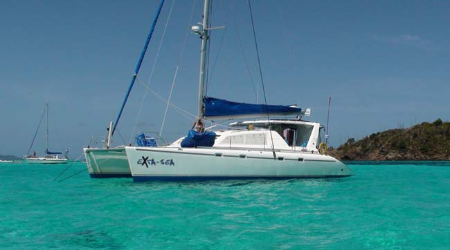 Catamaran Exta Sea