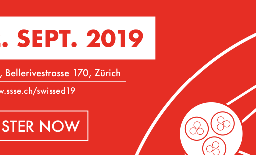 September, 2th, 2019 - Contact us to meet us at SWISSED19