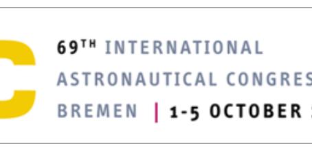 October 1-5, 2018 - Meet us at the IAC