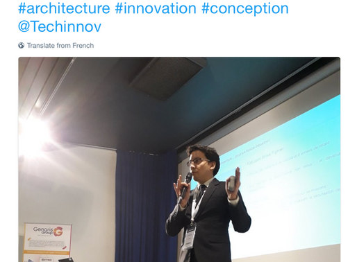 08/02/2018 - Two presentations of Geeglee @Techinnov
