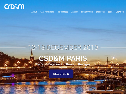 December, 12-13, 2019 - Geeglee at CSD&M'19