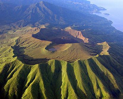 Vulcano St Vincent Crater