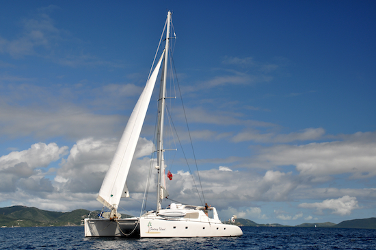 Catamaran Fantasy Island