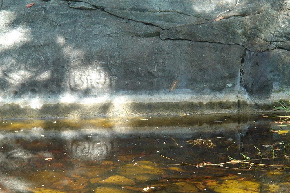 Petroglyph Pool St. John