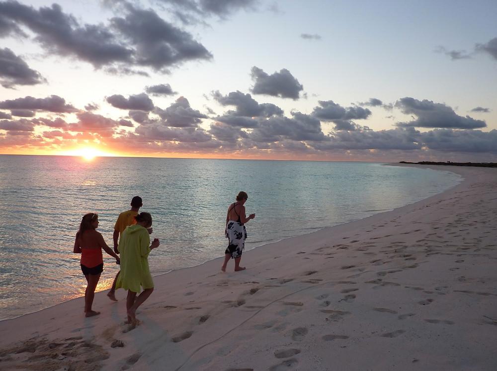 22miles of white Sandy Beach in Anegada BVI