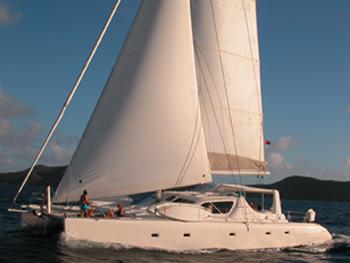 Catamaran Secret Oasis