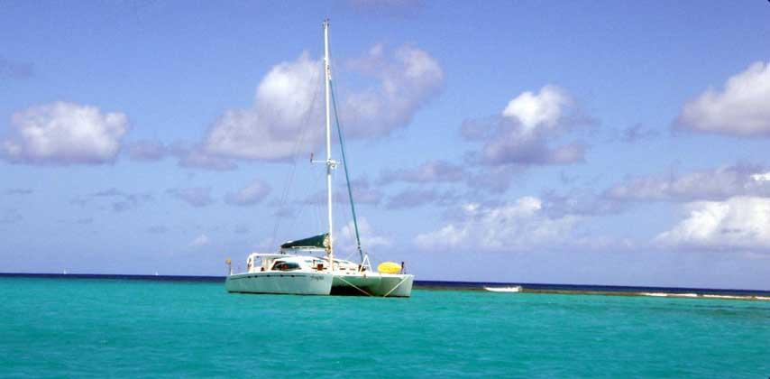 Catamaran Frangines
