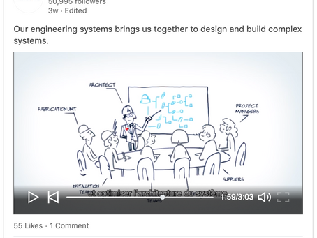 """March, 2019 - Framatome's communication:  """"Our engineering systems brings us together to design and"""