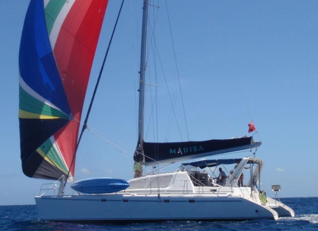 Catamaran Madiba