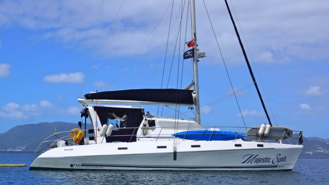 Catamaran Majestic Spirit