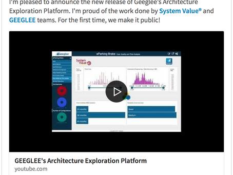 25/01/2018 - New Release of Geeglee® Engineering Intelligence