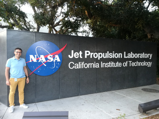 "June, 2019 - Proud to have one of our ""Geeglee's student"" at NASA"