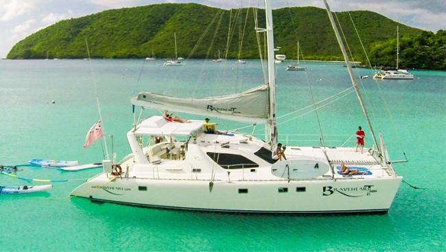 Catamaran Braveheart