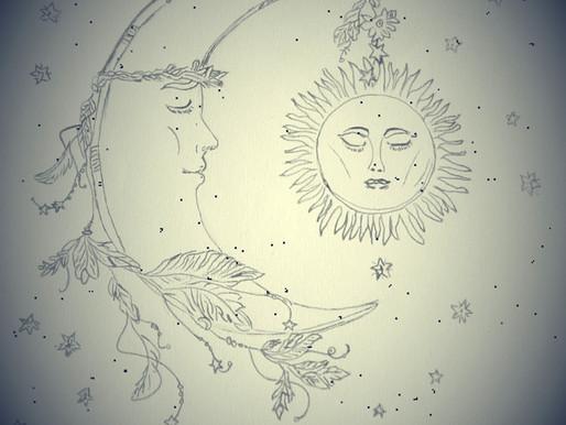La Lune & le Soleil, un sujet très yoguique!