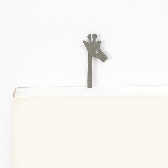 Marque-page motif Girafe