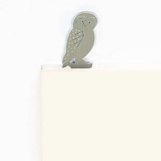 Marque-page motif Chouette