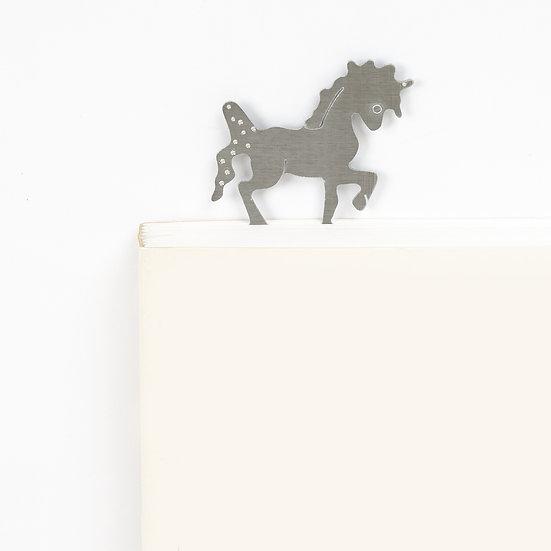 Marque-page motif Licorne