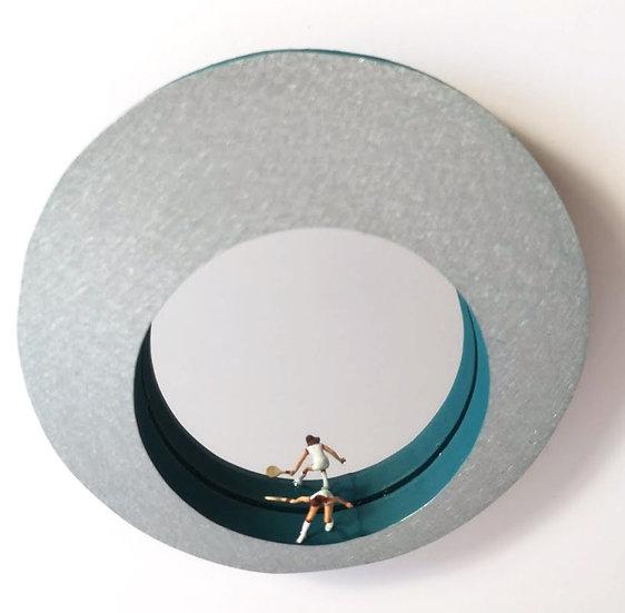 Miniature Tenniswoman