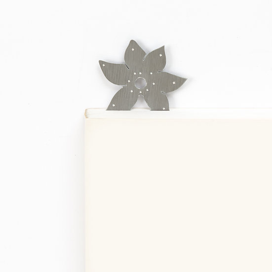 Marque-page motif Fleur