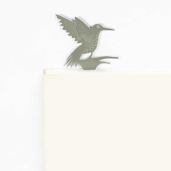 Marque-page motif Colibri