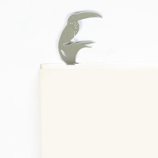 Marque-page motif Toucan