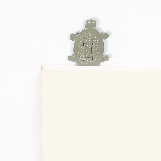 Marque-page motif Tortue