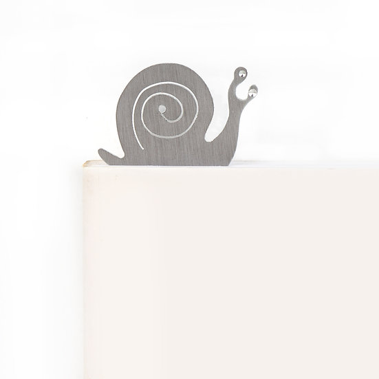 Marque-page motif Escargot