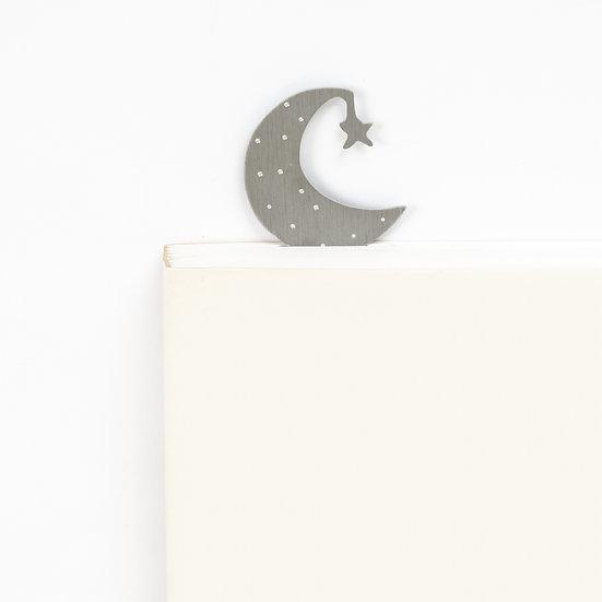 Marque-page motif Lune