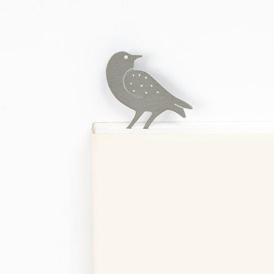 Marque-page motif Oiseau