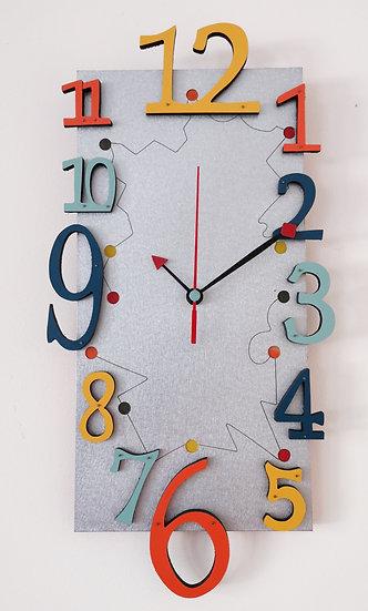 Horloge Copette rouge