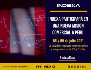 INDEXA participará en una nueva Misión Comercial a Perú