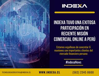 Indexa tuvo una exitosa participación en reciente Misión Comercial Online a Perú