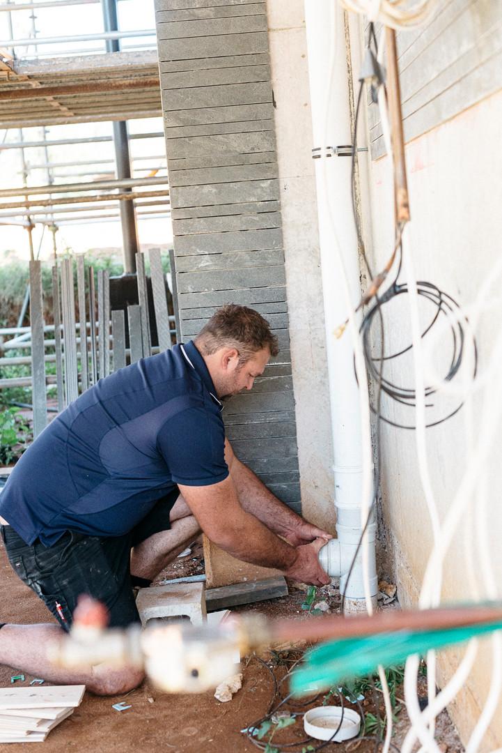 Burst Plumbing Pipe fitting