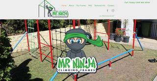 Mr. Ninja Climbing Frames