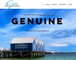 GEE Website Splash Screen