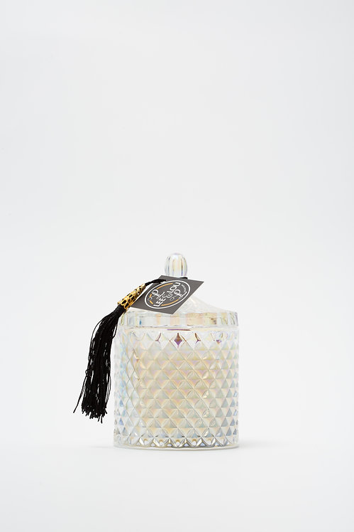 **WHOLESALE** MEDIUM Iron Plated Pearl Candle