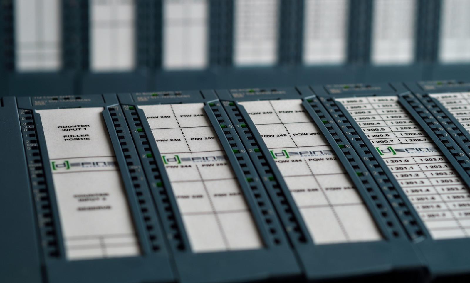 Siemens S7-1500 PLC configuratie