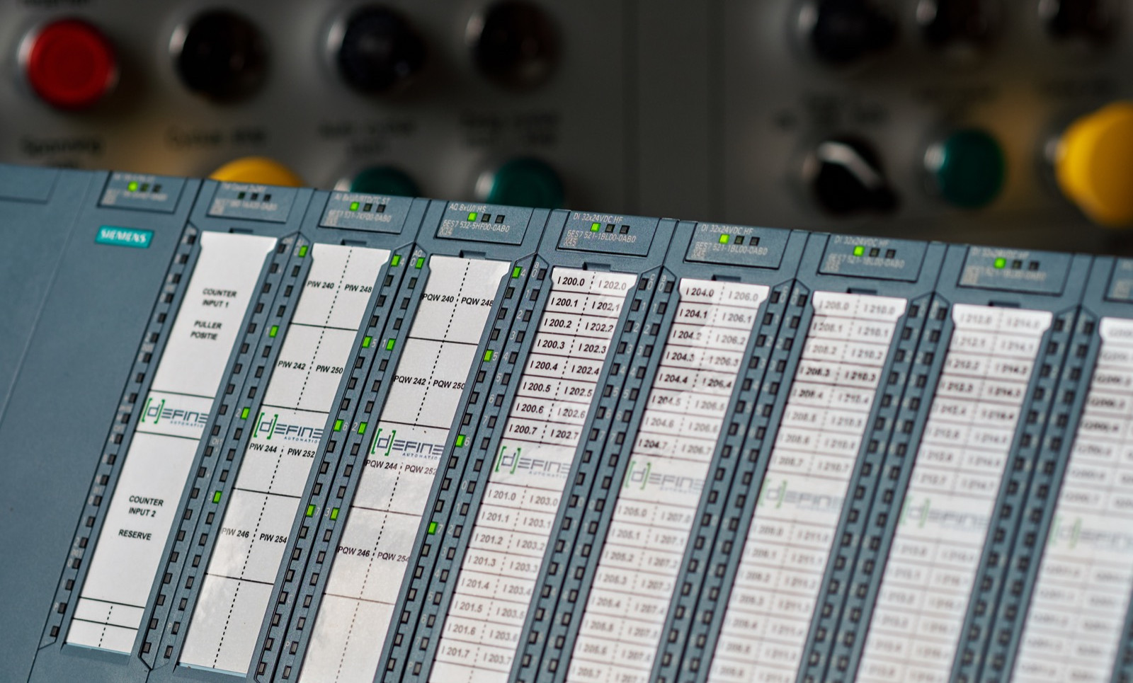 Siemens ET200M Rack