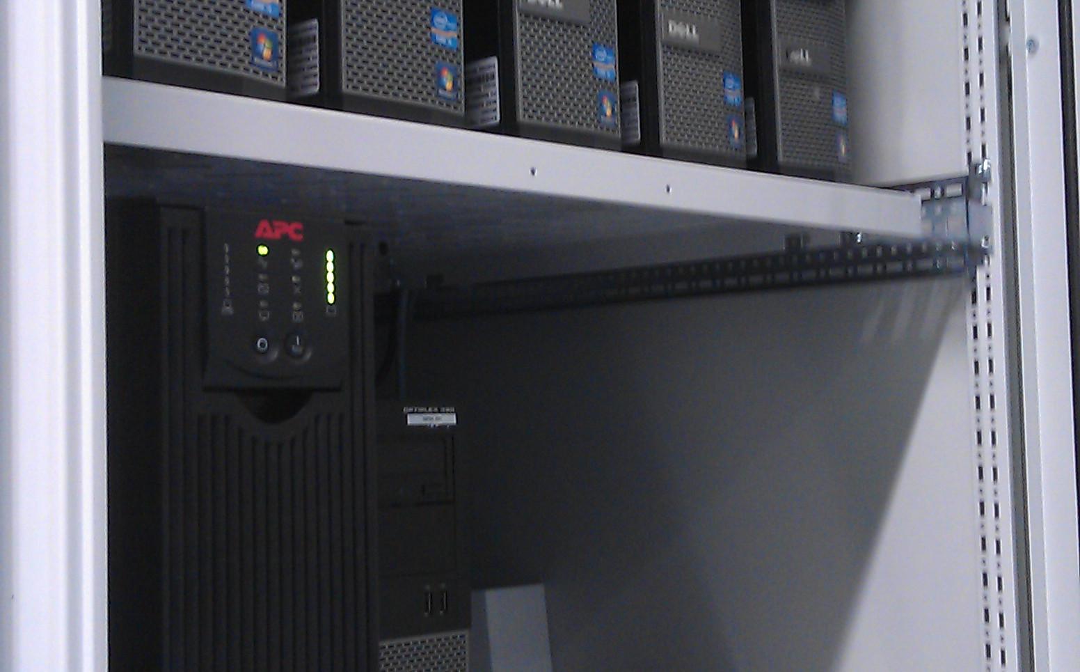 SCADA Servers met Clients en UPS